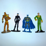 DC Comics  Batman related small soldier type plastic figures